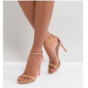 Steve Madden Stecy Nude Heel Sandals Size 6.5M